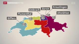 Video «Wo der Bund die 5000 Asylplätze schaffen will» abspielen