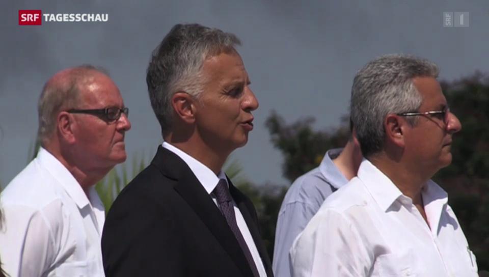Bundesrat Burkhalter in Kuba