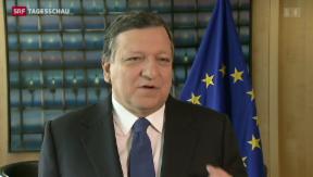 Video «EU begrüsst Nein zum Referendum » abspielen
