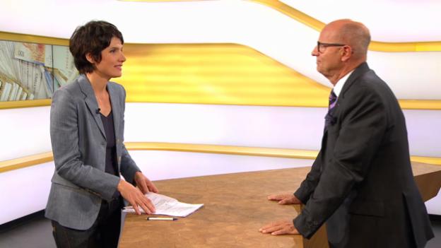 Video «Studiogespräch mit Lucius Dürr, Direktor Schweizerischer Versicherungsverband» abspielen