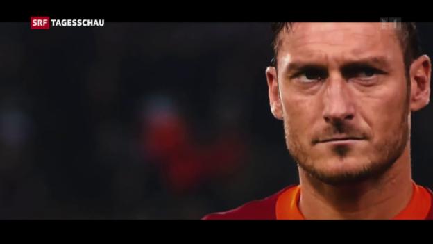 Video «Francesco Totti letztes Spiel» abspielen