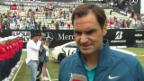 Video «Neue Trophäe für Federer» abspielen