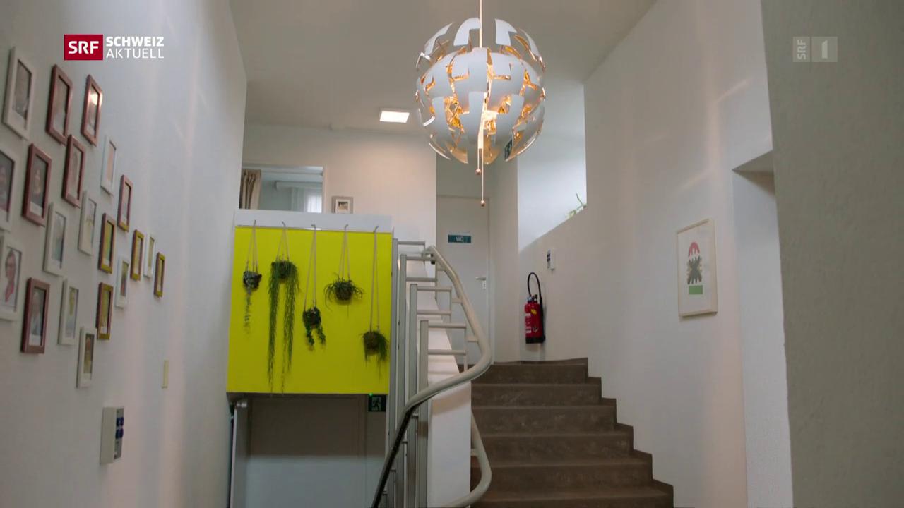 Hospiz in St. Gallen nimmt Betrieb auf