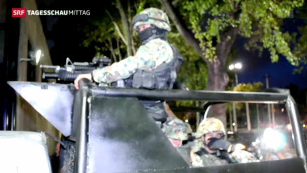 Video «Mexiko: Schlag gegen die Drogenmafia» abspielen