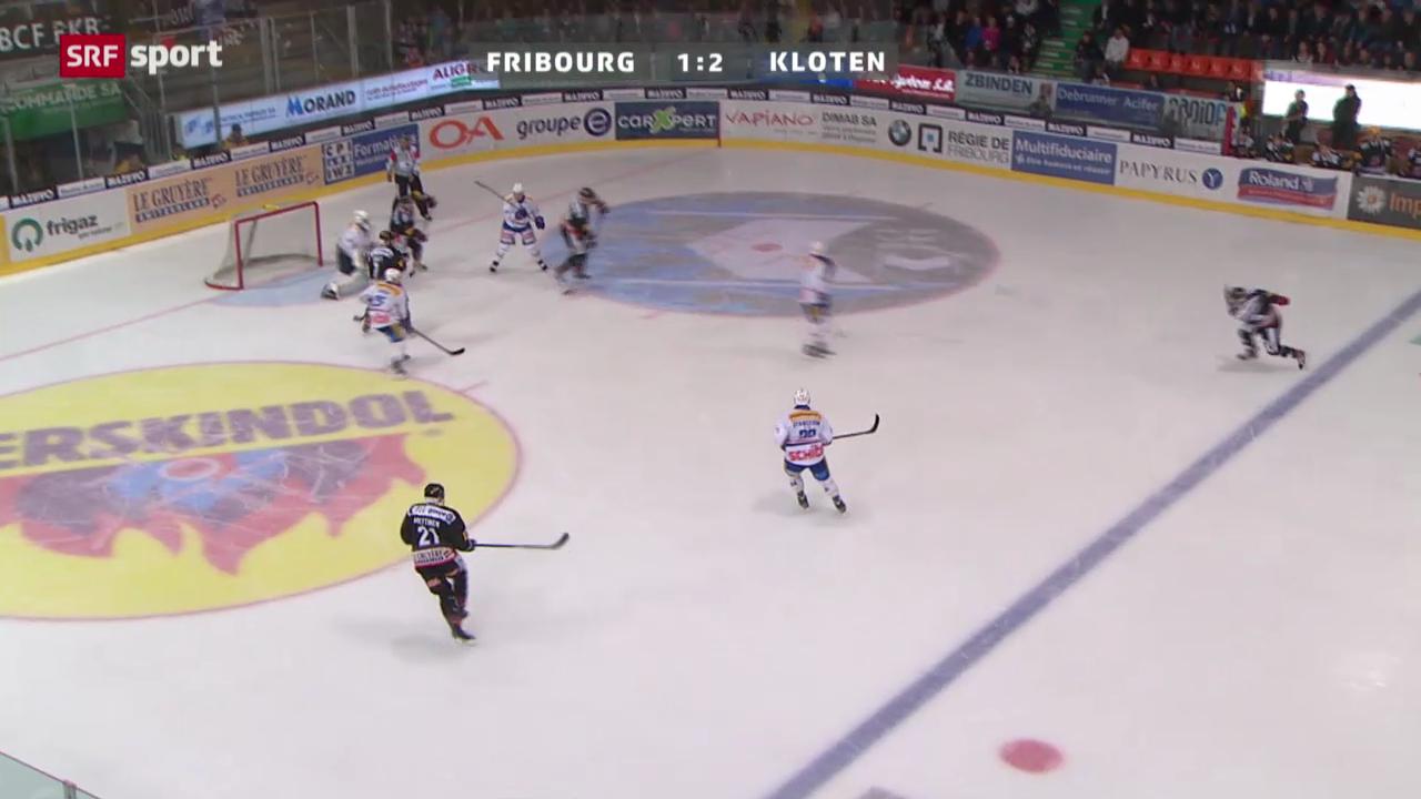 Fribourg - Kloten Flyers