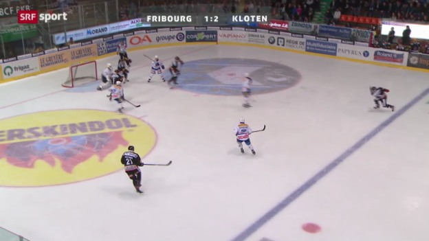 Video «Fribourg - Kloten Flyers» abspielen