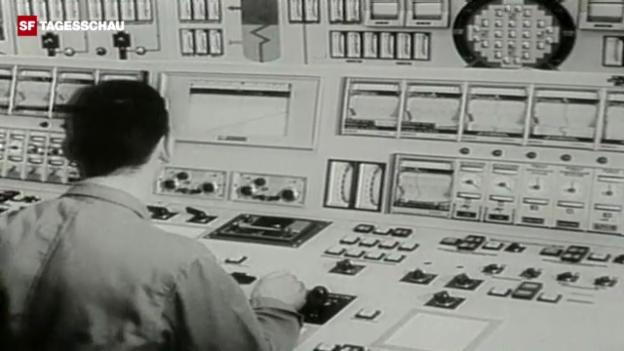 Video «Inbetriebnahme von Beznau 1969» abspielen