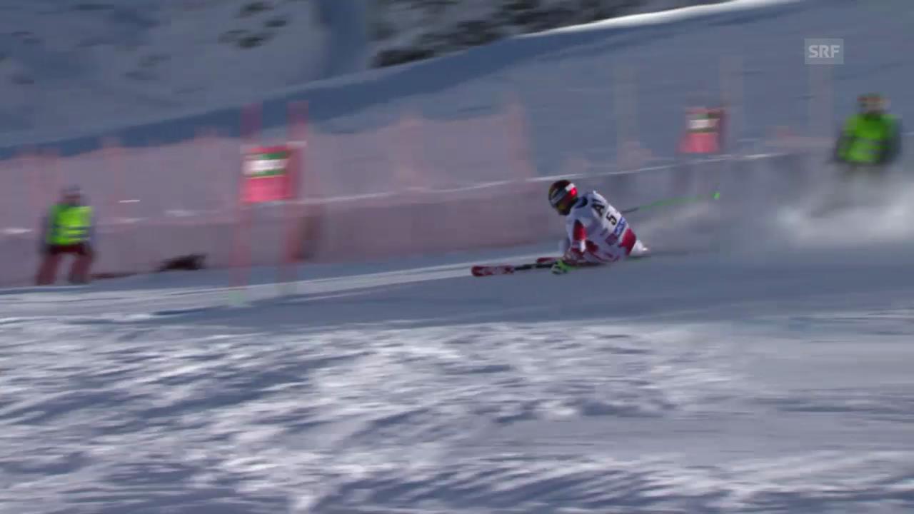 Ski: Riesenslalom Männer Sölden. 1. Lauf Hirscher