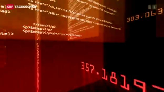 Video «Internet-Kriminalität in der Schweiz» abspielen