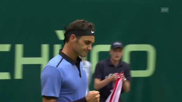 Video «Federer - Chatschanow: Die Live-Highlights» abspielen