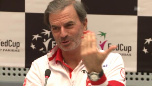 Video «Heinz Günthardt und seine roten Fingernägel» abspielen