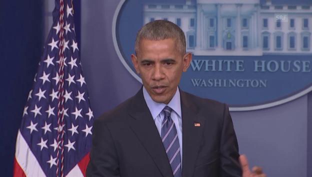 Video «Obama zum Hackerangriff auf die Demokraten» abspielen