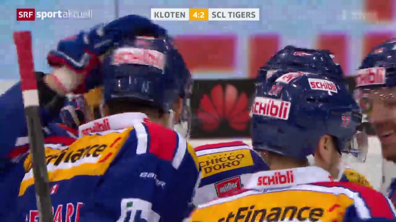 Eishockey: Kloten Flyers - SCL Tigers