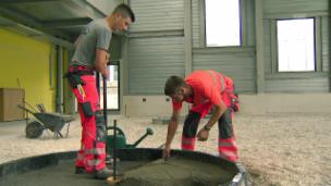 Video «Fabian und Daniel trainieren für die SwissSkills» abspielen