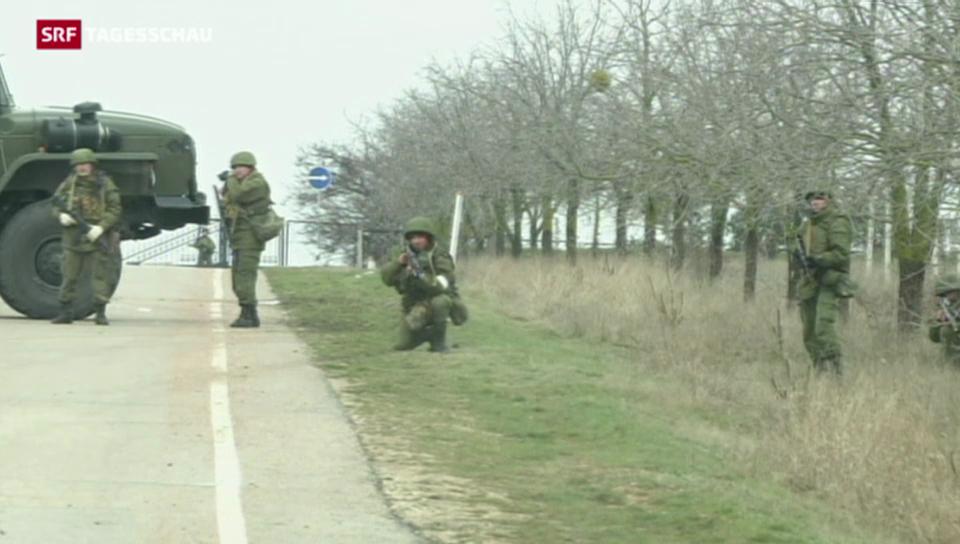 Spannungen zwischen Ukraine und Russland