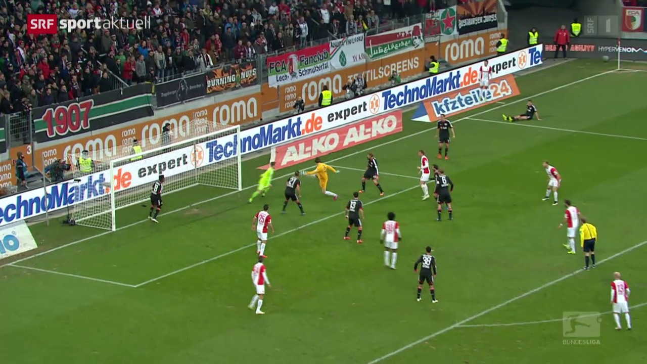 Fussball: Marwin Hitz schiesst Augsburg zum Remis