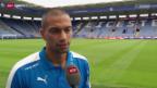 Video «Fussball: Gökhan Inler in Leicester» abspielen
