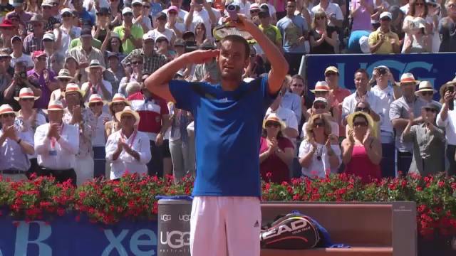 Tennis: Juschni - Haase, entscheidende Punkte
