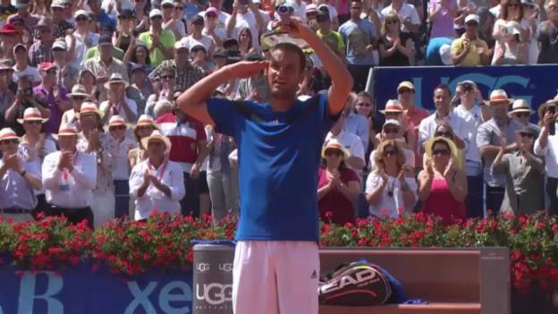 Video «Tennis: Juschni - Haase, entscheidende Punkte» abspielen