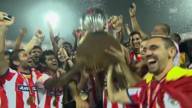 Video «Fussball: ISL, Kolkata-Kerala» abspielen