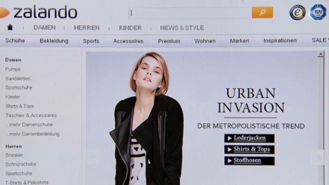 Zalando: «Kassensturz» checkt den Senkrechtstarter