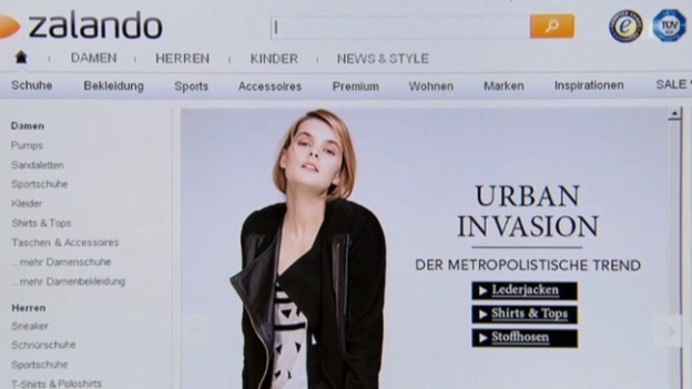 Video «Zalando: «Kassensturz» checkt den Senkrechtstarter» abspielen