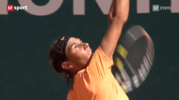 Video «Final Monte Carlo: Nadal - Djokovic» abspielen