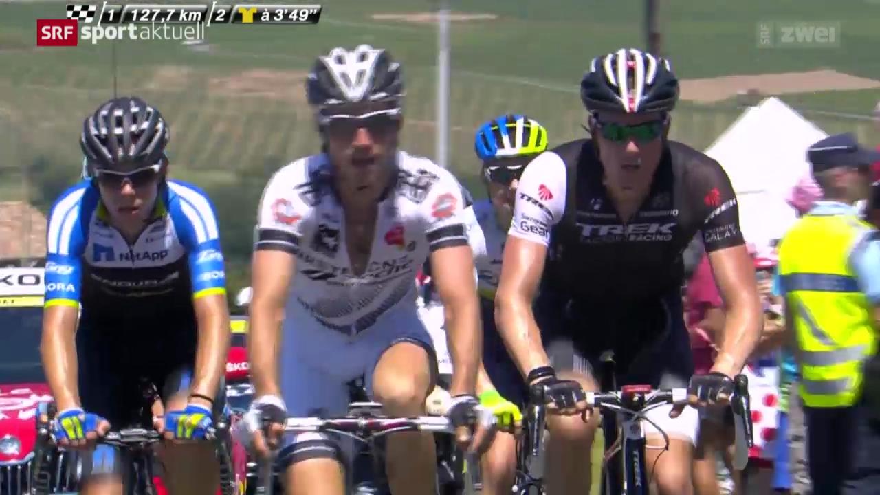 Rad: 12. Etappe der Tour de France