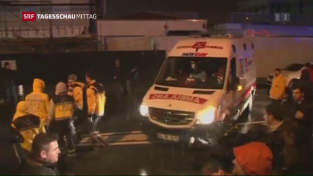 Video «Anschlag in Istanbul» abspielen