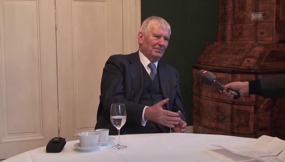 Otto Schily über Demokratie und Gesellschaft
