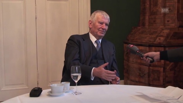 Video «Otto Schily über Demokratie und Gesellschaft» abspielen