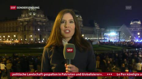 Video «SRF-Korrespondenten zu Macrons Auftritt» abspielen