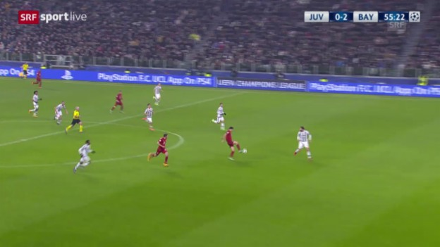 Video «Robben vollendet einen Bayern-Konter» abspielen