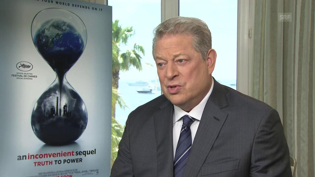 Fünf Fragen an Al Gore