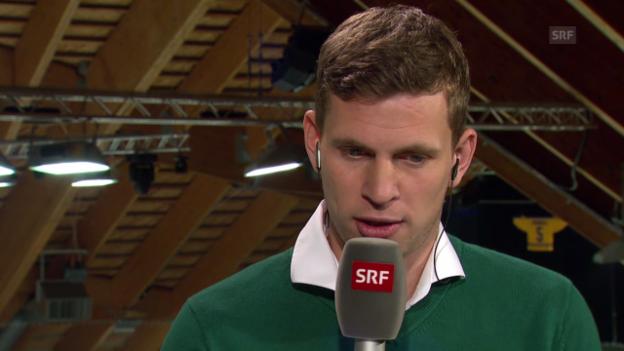 Video «Eishockey: Spengler Cup, VIP-Gespräch mit Fabian Frei» abspielen