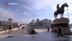 Video «Referendum in Mazedonien gescheitert» abspielen