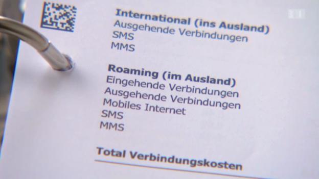 Video «12.03.13: Handy-Abzocke: Hohe Roaming-Gebühren ohne Ende?» abspielen