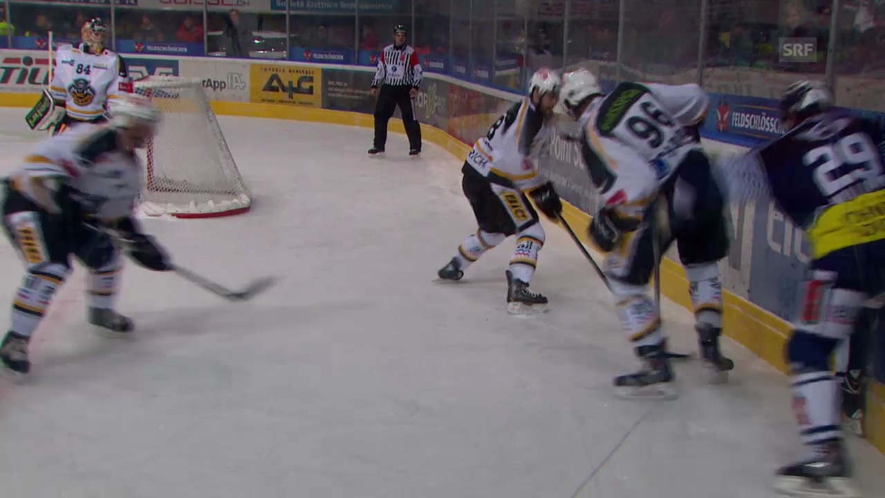 Eishockey: Ambri - Lugano
