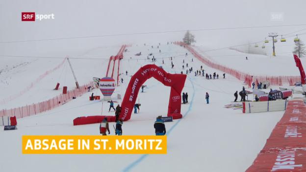Video «Keine Kombi in St. Moritz» abspielen