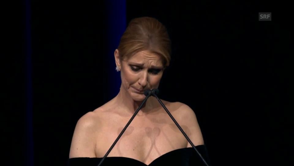 Céline Dion: Abschiedsworte für die grosse Liebe