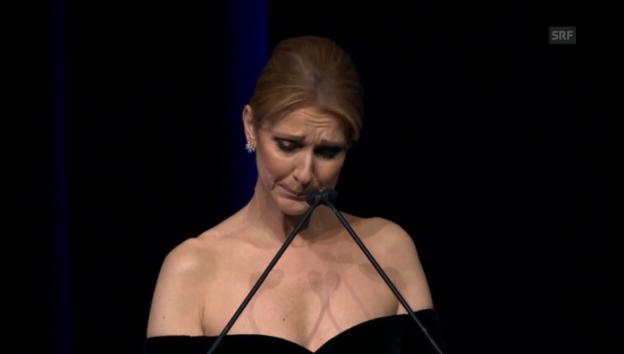 Video «Céline Dion: Abschiedsworte für die grosse Liebe» abspielen