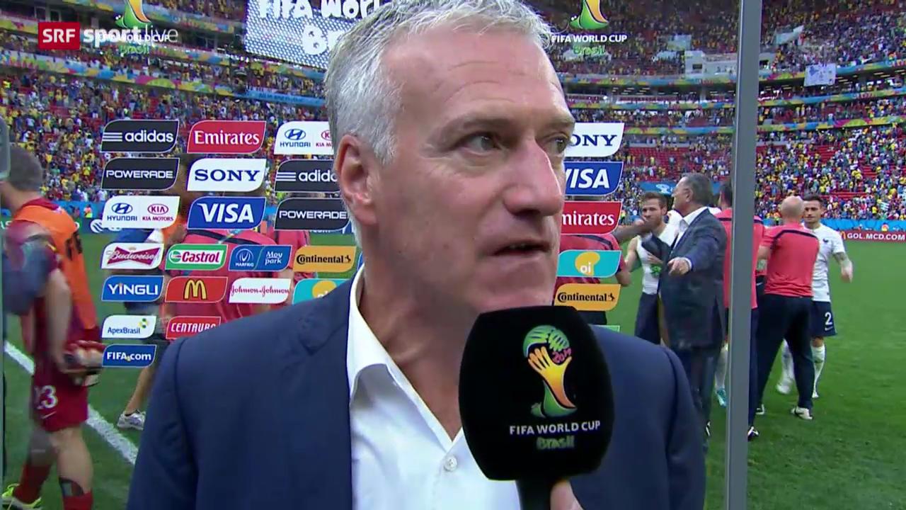 Interview mit Didier Deschamps
