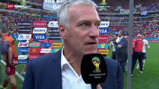 Video «Interview mit Didier Deschamps» abspielen