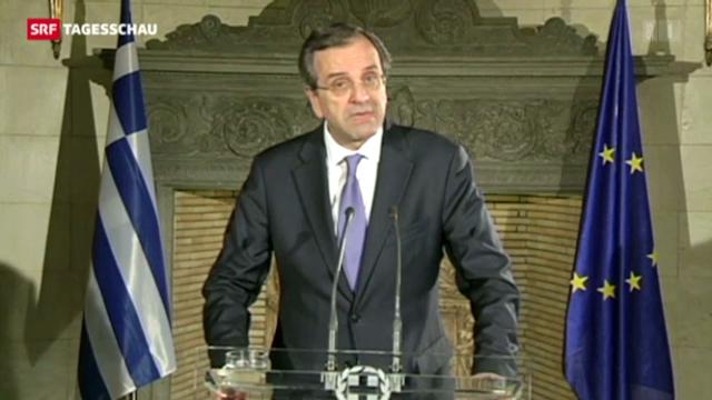 Griechenlands Regierungskoalition geplatzt