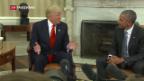 Video «Trump bei Obama» abspielen