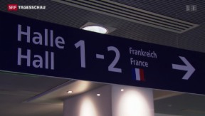 Video «Krisensitzung wegen Besteuerung des Euro-Airports Basel Mulhouse» abspielen