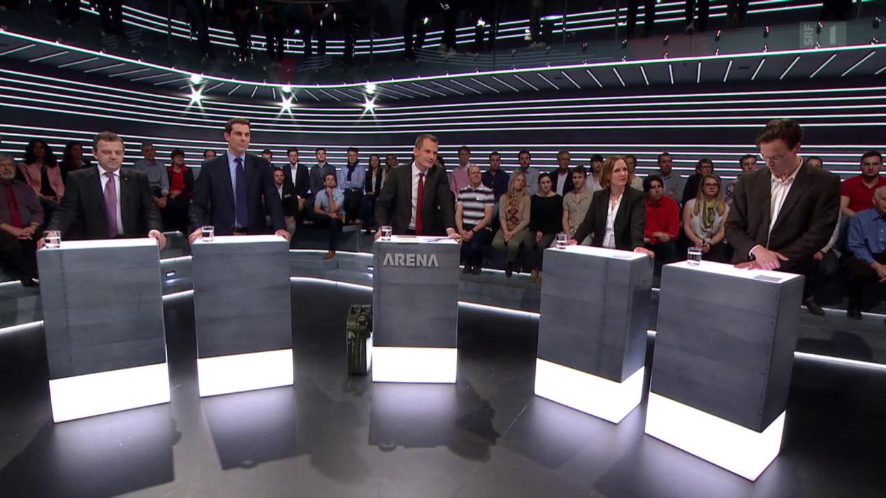 Arena: Finanzierung der Auto-Schweiz