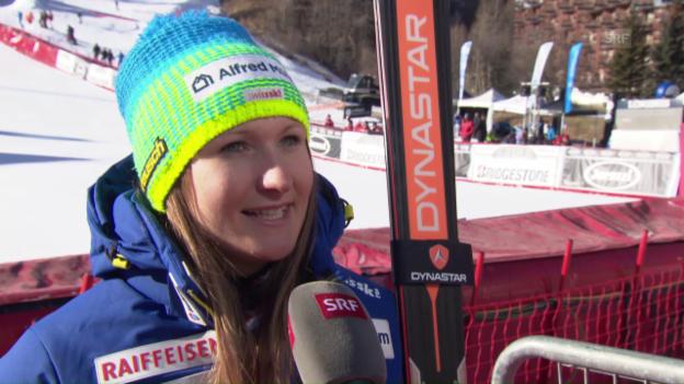 Video «Priska Nufer: «Eine grosse Erleichterung»» abspielen