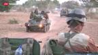 Video «Tag sechs von Frankreichs Militäreinsatz in Mali» abspielen