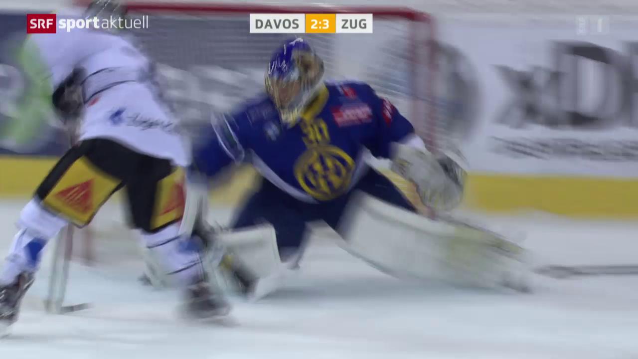 Eishockey: NLA, Davos - Zug
